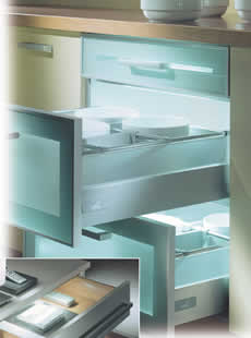 kitchen designs drawers